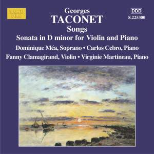 Taconet: Songs & Violin Sonata in D minor Product Image