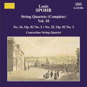 Louis Spohr: String Quartets, Volume 10 Product Image