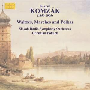 Komzák - Waltzes, Marches and Polkas, Volume 2