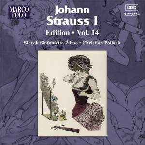 Johann Strauss I Edition, Volume 14 Product Image