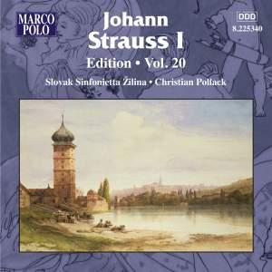 Johann Strauss I Edition, Volume 20 Product Image