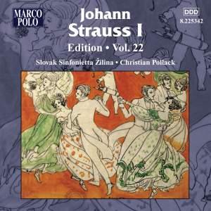 Johann Strauss I Edition, Volume 22 Product Image
