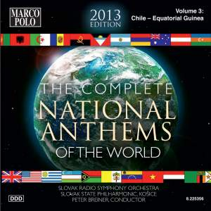 The Complete National Anthems of the World (2013 Edition), Vol. 3 Product Image