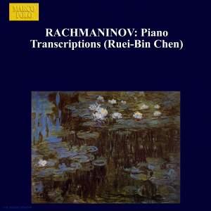 Rachmaninov: Piano Transcriptions Product Image