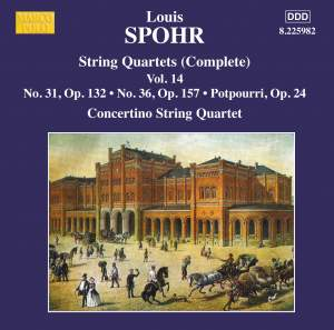 Louis Spohr: String Quartets, Volume 14
