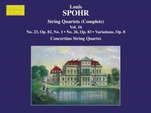 Louis Spohr: String Quartets, Volume 16