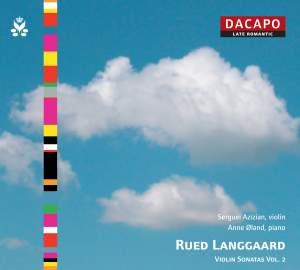 Langgaard - Violin Sonatas Volume 2