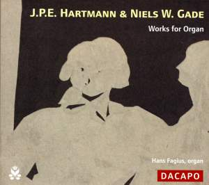 J P E Hartmann, Niels W Gade - Works for Organ Product Image