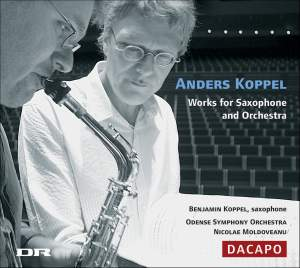 Anders Koppel - Works for Saxophone and Orchestra Product Image