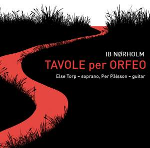 Ib Norholm: Tavole per Orfeo