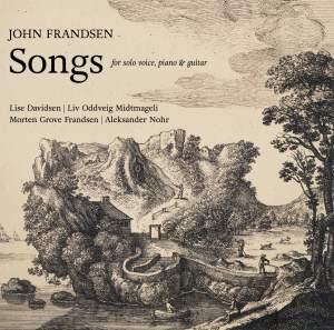 John Frandsen: Songs for solo voice, piano & guitar