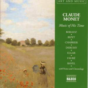 Art & Music: Monet - Music Of His Time Product Image