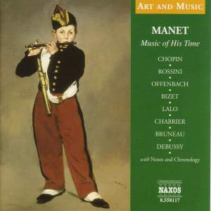 Art & Music: Manet - Music Of His Time Product Image