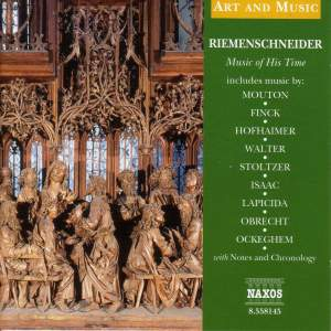 Art & Music: Riemenschneider - Music Of His Time
