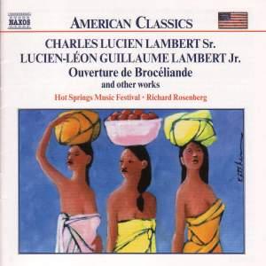 Lucien-Lambert Sr. & Jr.: Chamber Works