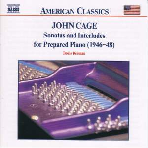 Cage: Sonatas and Interludes for Prepared Piano Product Image