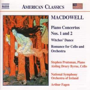 MacDowell: Piano Concertos Nos. 1 & 2, Hexentanz & Romance for Cello Product Image