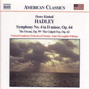 Hadley: The Ocean, The Culprit Fay & Symphony No. 4 Product Image