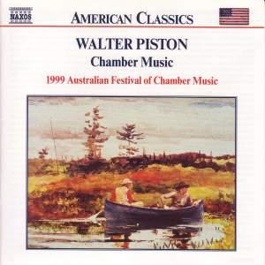 Walter Piston: Chamber Music Product Image