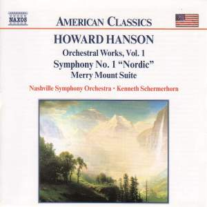 Hanson: Symphony No. 1, Merry Mount, Pan & Priest and Rhythmic Variations Product Image