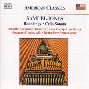 Samuel Jones: Roundings & Cello Sonata