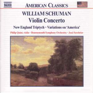 William Schuman: Violin Concerto Product Image