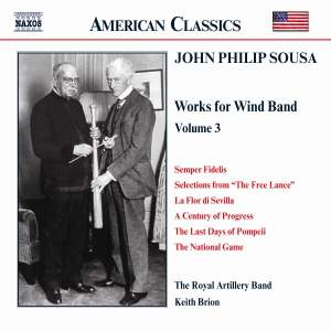 Sousa - Music for Wind Band Volume 3