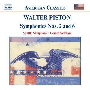 Walter Piston: Symphonies Nos. 2 & 6
