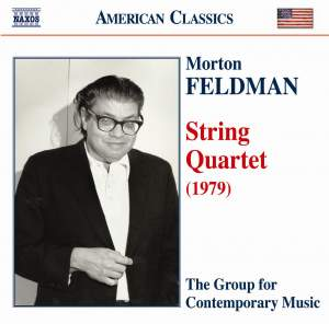 Feldman, M: String Quartet (1979) Product Image