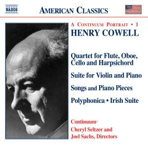 American Classics - Henry Cowell Product Image
