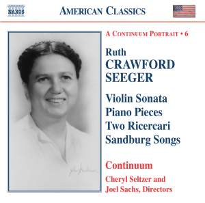 American Classics - Ruth Crawford Seeger Product Image