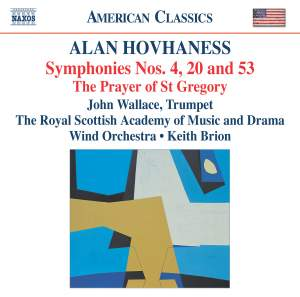 Hovhaness - Symphonies 4, 20 & 53 Product Image