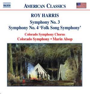 Harris: Symphonies Nos. 3 & 4 Product Image