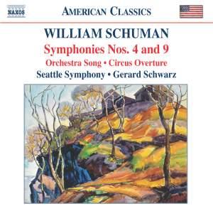 William Schuman - Symphonies Nos. 4 & 9 Product Image