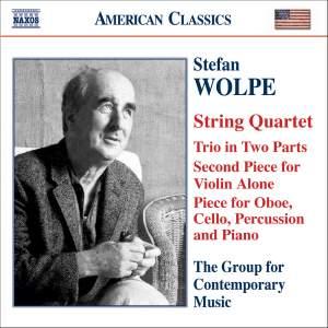 Stefan Wolpe: Quartets & Trios