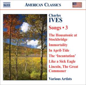 Ives - Songs Volume 3 Product Image