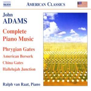 Adams - Complete Piano Music Product Image