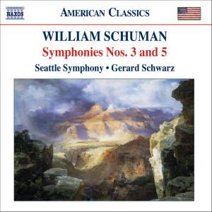 William Schuman - Symphonies Nos. 3 & 5 Product Image