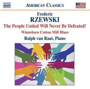 Rzewski: The People United Will Never Be Defeated! Product Image