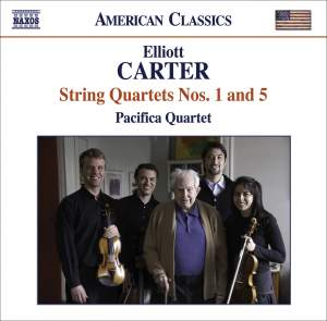 Elliott Carter - String Quartets Volume 1