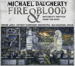 Michael Daugherty - Fire and Blood