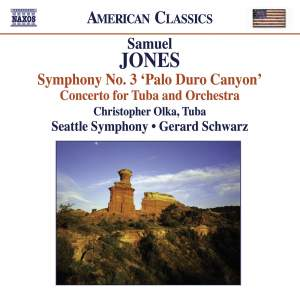 Samuel Jones - Symphony No. 3 & Tuba Concerto