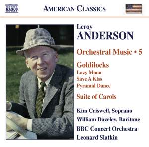 Leroy Anderson - Orchestral Music Volume 5 Product Image
