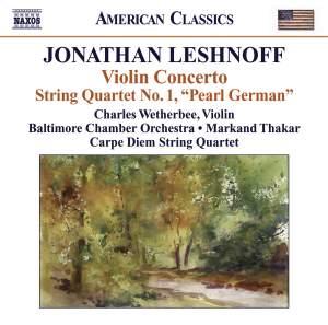 Jonathan Leshnoff: Violin Concerto Product Image