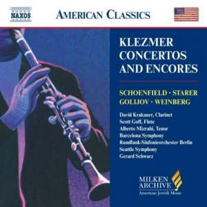 American Classics - Klezmer Concertos and Encores Product Image