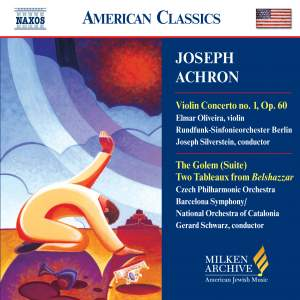 American Classics - Joseph Achron Product Image