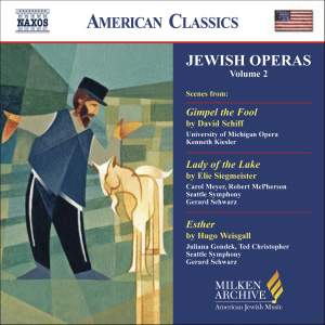 American Classics - Scenes from Jewish Operas Volume 2 Product Image