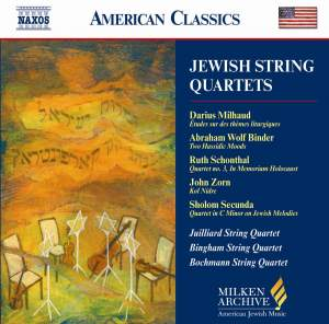American Classics - Jewish String Quartets