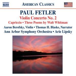 Paul Fetler - Violin Concerto No. 2