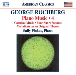 George Rochberg: Piano Music Volume 4 Product Image